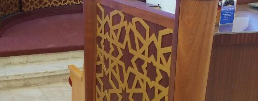 תיבת החזן תואמת לארון הקודש