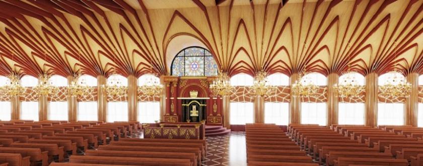 אופציה 2 עיצוב ארון הקודש
